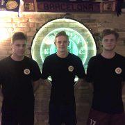 Tre nye spillere i NB 93